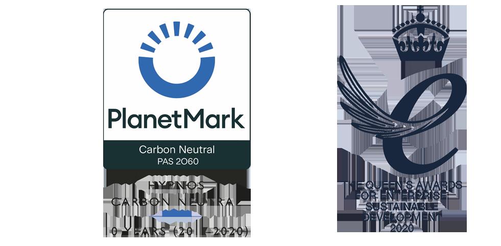 PlanetMark Carbon Neutral / The Queen's Awards for Enterprise